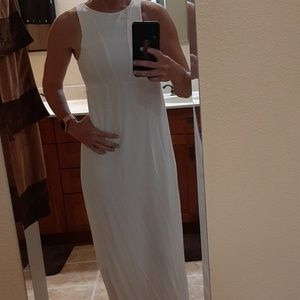 Long white dress
